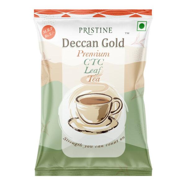 PRISTINE Deccan GoldPremium CTC Leaf Tea, 15 gm Pack of 1