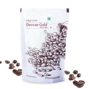 PRISTINE Deccan GoldPremium Coffee 80:20, 200gm Pack of 4