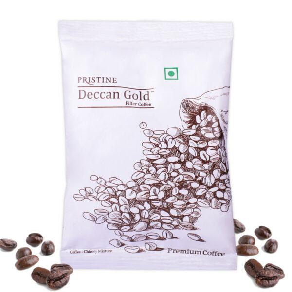 PRISTINE Deccan GoldPremium Coffee 80:20, 50gm Pack of 4