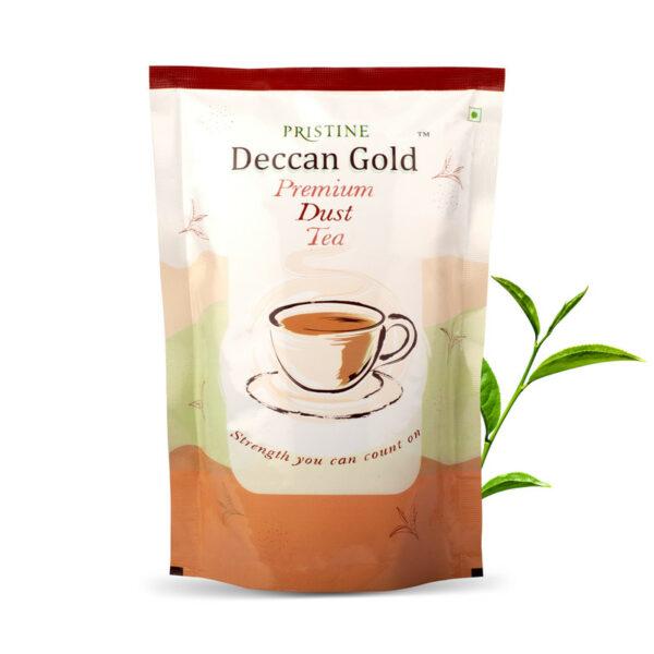PRISTINE Deccan GoldPremium Dust Tea, 500gm Pack of 5