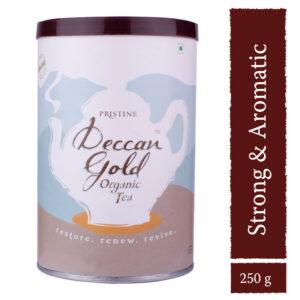 PRISTINE Deccan Gold Organic Tea, 250gm Pack of 1
