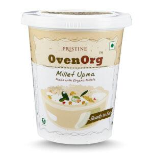 PRISTINE OvenOrg Ready To Eat Organic Millet Upma, 80gm Pack of 4