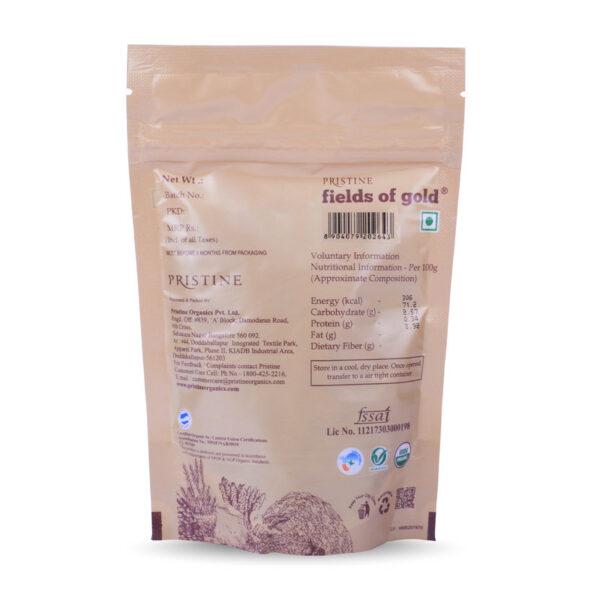 PRISTINE Fields of Gold Organic Raisins, 100gm Pack of 2
