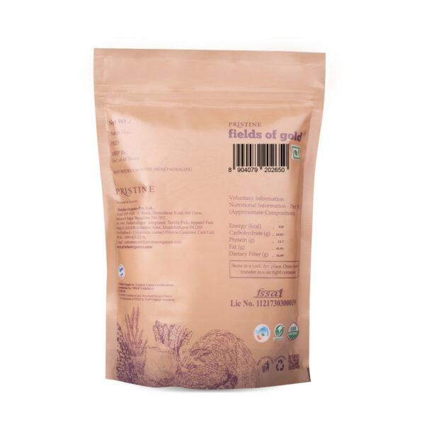 PRISTINE Fields of Gold Organic Sesame (White), 100gm Pack of 4