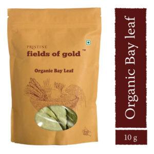 PRISTINE Fields of Gold Organic Bay Leaf, 10gm Pack of 3