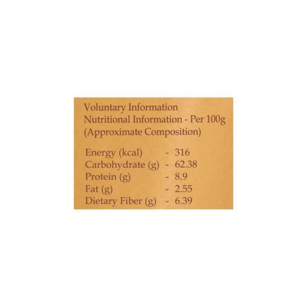 PRISTINE Fields of Gold Organic Kodo Millet Flour, 500gm Pack of 4