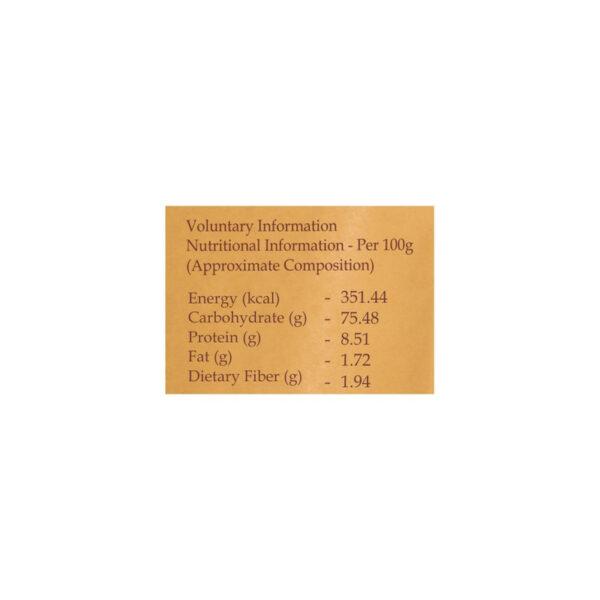 PRISTINE Fields of Gold Organic Basmati Rice (Brown), 1kg Pack of 5