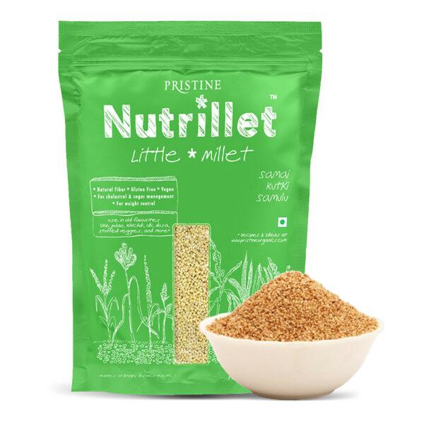 PRISTINE Nutrillet Little Millet, 500gm Pack of 1