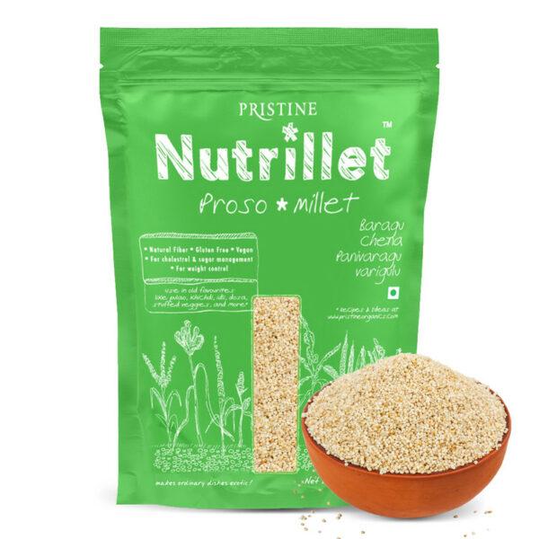 PRISTINE Nutrillet Proso Millet, 500gm Pack of 1