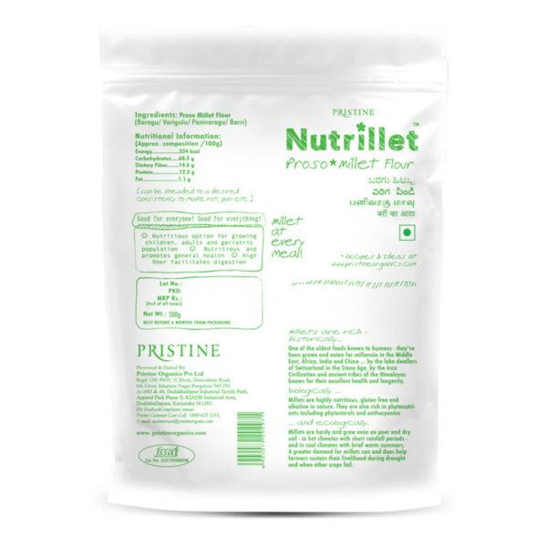 PRISTINE Nutrillet Proso Millet, 500gm Pack of 4