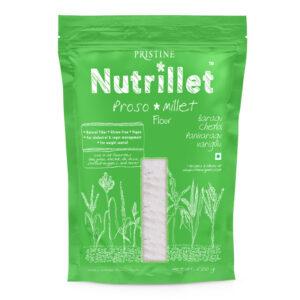PRISTINE Nutrillet Proso Millet Flour, 500gm Pack of 1