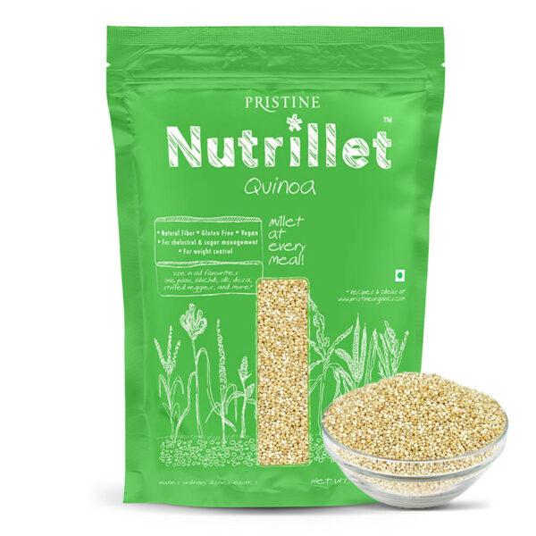 PRISTINE Nutrillet Quinoa, 500gm Pack of 1