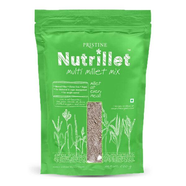 PRISTINE Nutrillet Multi Millet Mix, 500gm Pack of 4