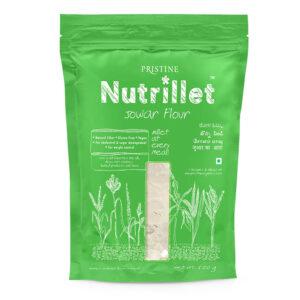 PRISTINE Nutrillet Jowar Flour, 500gm Pack of 1
