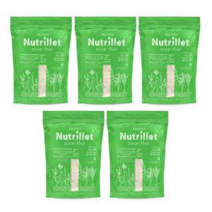 PRISTINE Nutrillet Jowar Flour, 500gm Pack of 5