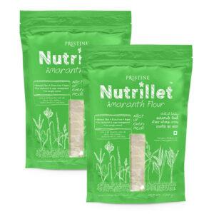 PRISTINE Nutrillet Amaranth Flour, 500gm Pack of 2