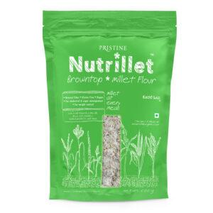 PRISTINE Nutrillet Browntop Millet Flour, 500gm Pack of 4