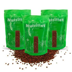 PRISTINE Nutrillet Red Quinoa, 500gm Pack of 3