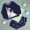 Kicks & Crawl- Chilling Bunny Nightsuit