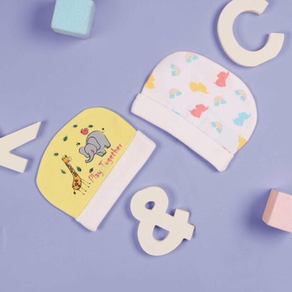 Kicks & Crawl- Lets Play Baby Caps - 2 Pack
