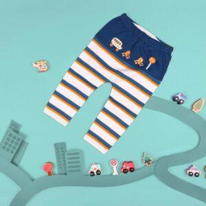 Kicks & Crawl- Baby Bus Diaper Legging