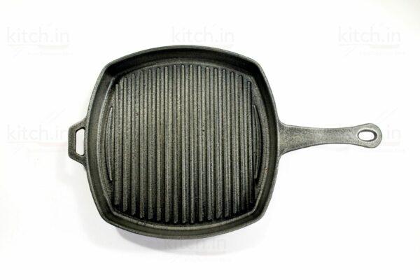 "CAST IRON Grill Pan 8"""