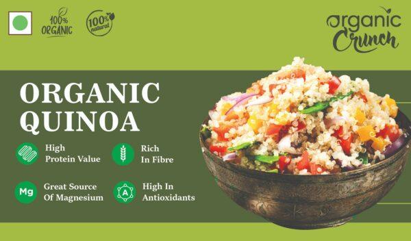 Organic Quinoa- 500 grams
