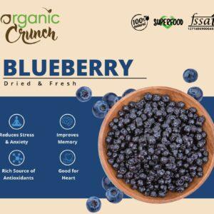 Dried Blueberries   Rich in Antioxidants 200 grams