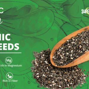 Organic Chia Seeds 250 grams