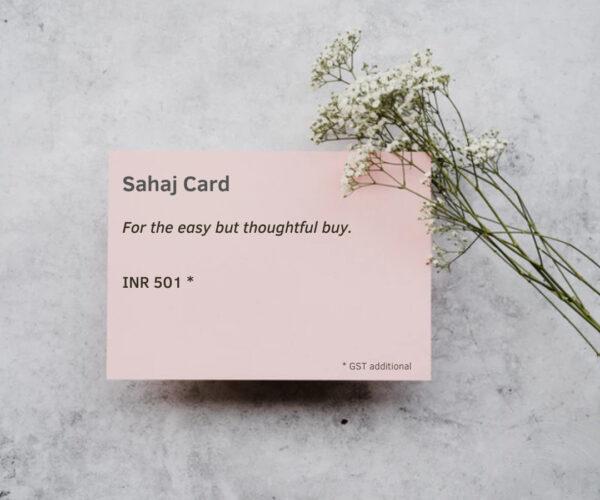 Sahaj Card