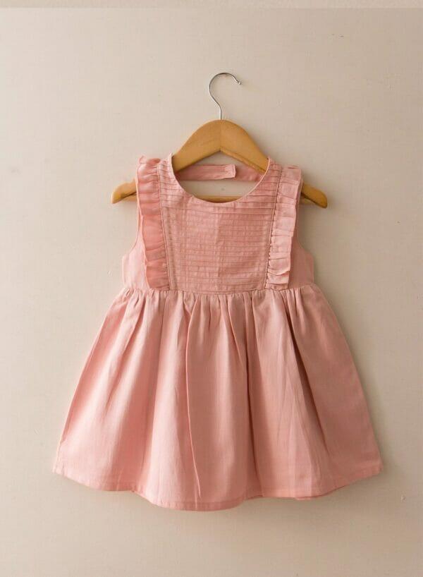 Cara Pin-tuck Dress