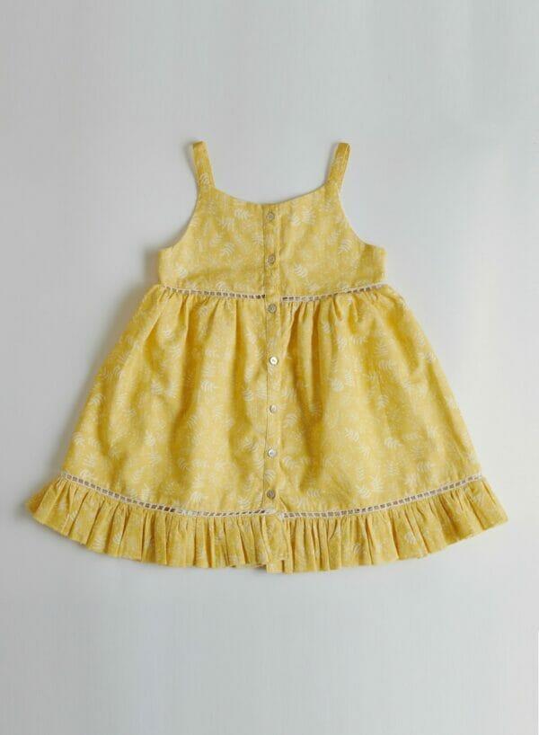 Sophia Leaf Dress