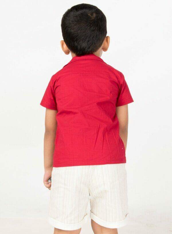Theo Stripe Shorts
