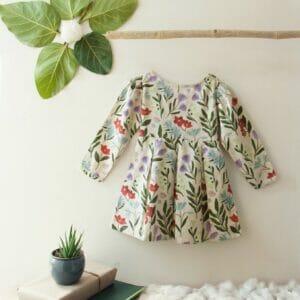 Nancy Floral Print Dress