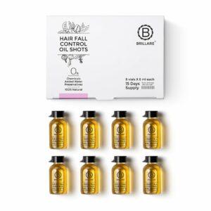 Brillare Hair Fall Control Oil Shots To Reduce Seasonal Hair Fall