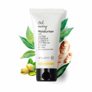 Brillare Oil Away Moisturiser For Oily, Acne Prone Skin