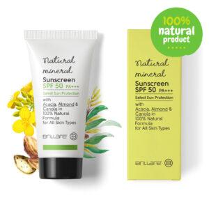 Brillare Natural Mineral Sunscreen SPF 50